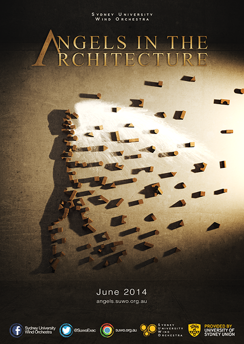 Angels in the Architecture concert poster